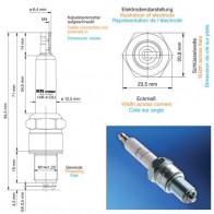 Beru Industrial Spark Plugs 14 R-4 CIU - 14R-4CIU (0004350908) Z205