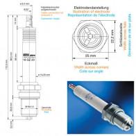 Beru Industrial Spark Plugs 18 GZ 20 - 18GZ20 (0004800503) Z178