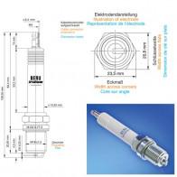 Beru Industrial Spark Plugs 18 GZ 5-77-2 - 18GZ5-77-2 (0004800918) Z201